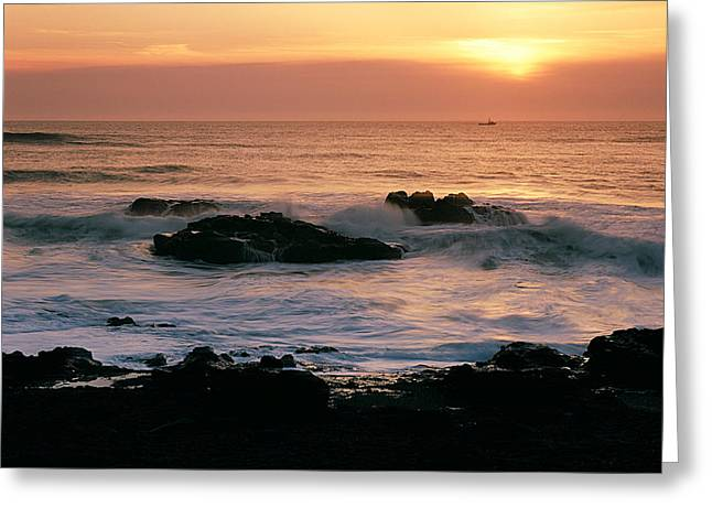 Ocean Tranquility  Greeting Card