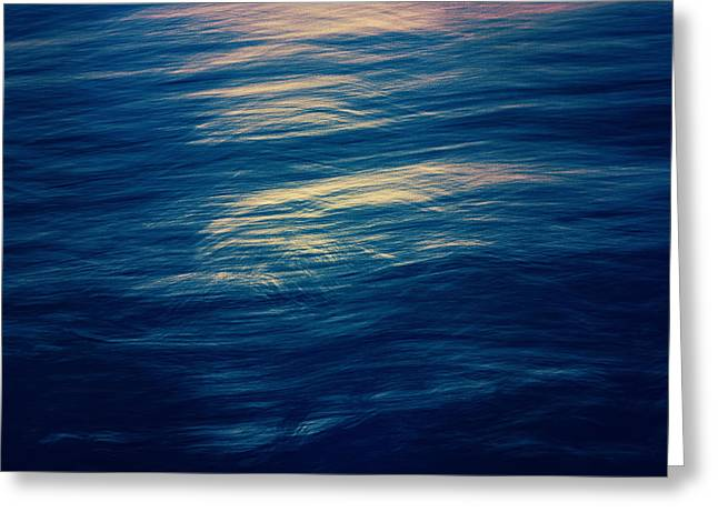 Greeting Card featuring the photograph Ocean Twilight by Ari Salmela