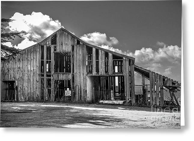 Ocean View Barn Greeting Card