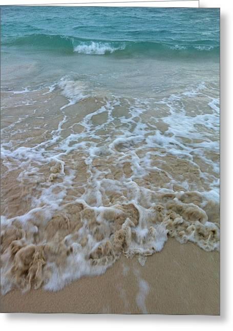 Ocean Wave Caress Greeting Card