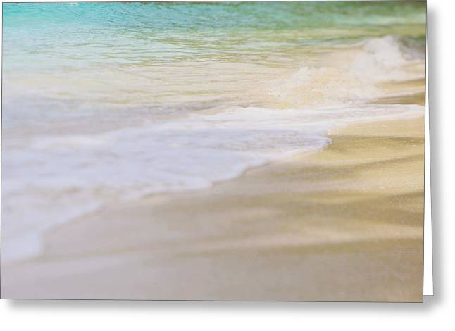 Ocean Waves Greeting Card by Heather Green
