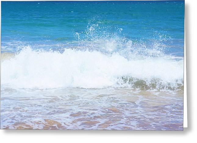 Ocean Wave Splash Greeting Card