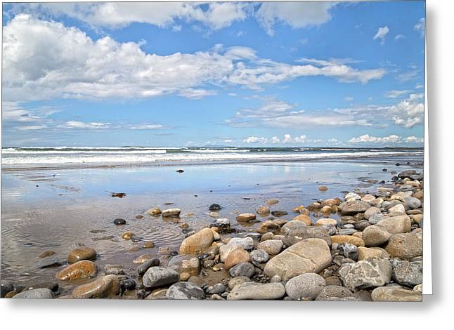 Oceanfront -- Sligo -- Ireland Greeting Card by Betsy Knapp