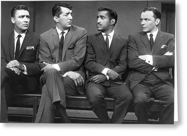 Ocean's Eleven Rat Pack Greeting Card