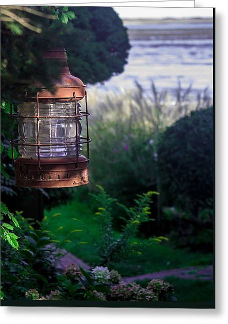 Oceanside Lantern Greeting Card