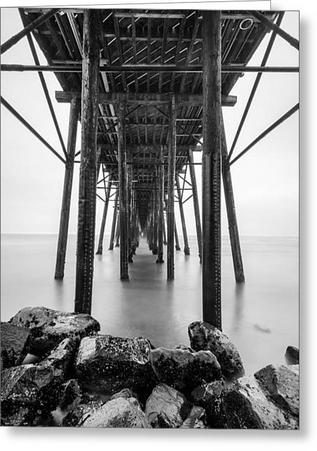 Oceanside Pier Greeting Card by Alexander Kunz