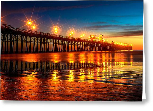Oceanside Pier 2 Greeting Card