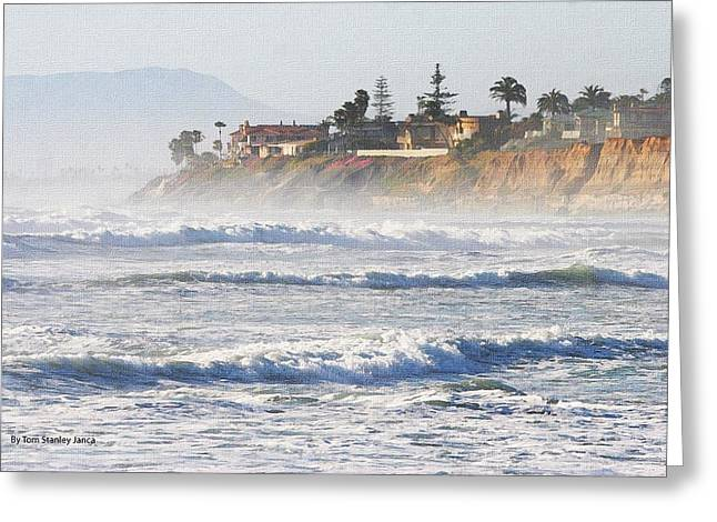 Greeting Card featuring the photograph Oceanside California by Tom Janca
