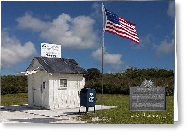 Ochopee Post Office Greeting Card
