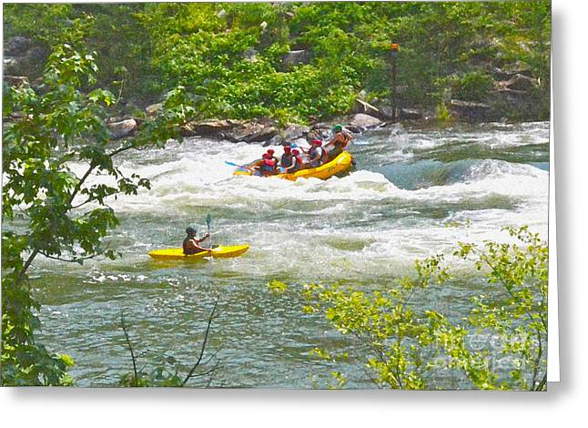 Ocoee White Water Greeting Card