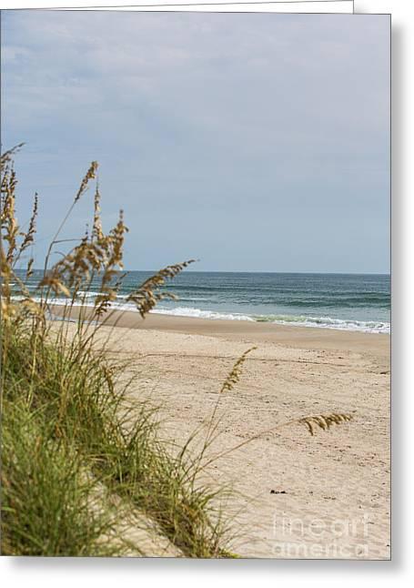 Ocracoke Beach Greeting Card