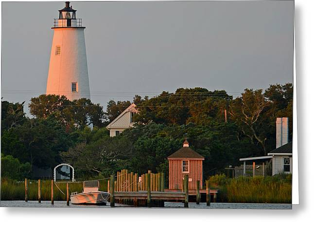 Ocracoke Island Greeting Card