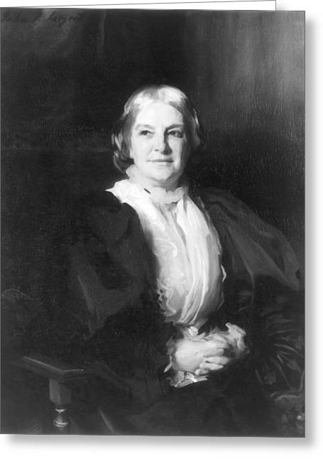 Octavia Hill (1838-1912) Greeting Card by Granger