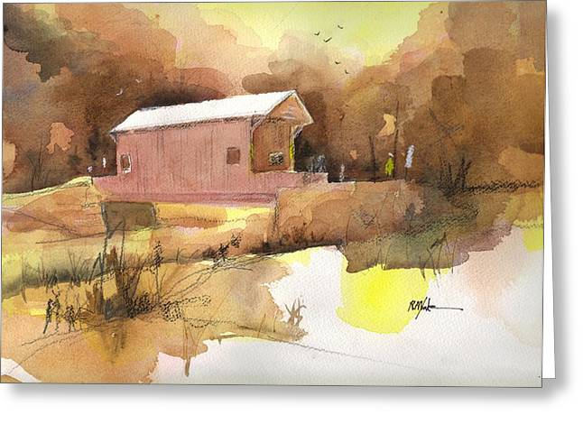 October 16th  Greeting Card by Robert Yonke