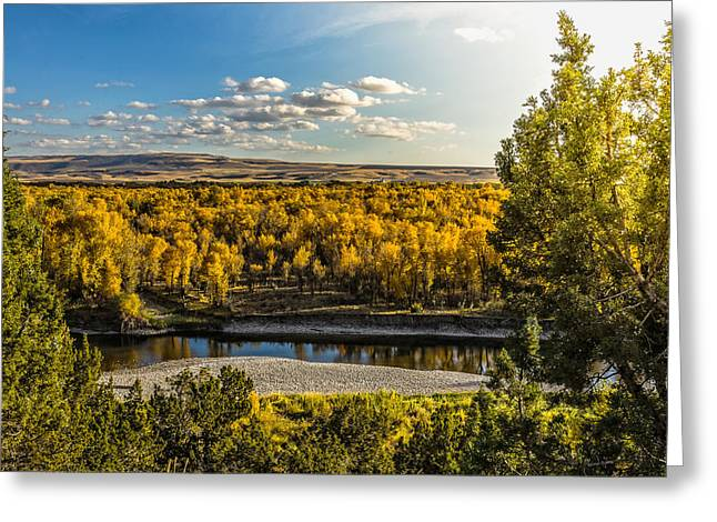 October In Heise Valley Greeting Card by Yeates Photography