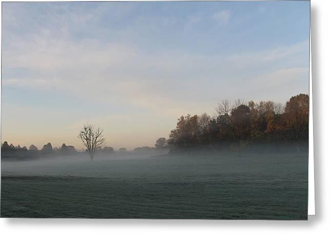 October Mist Greeting Card by Dan McCafferty