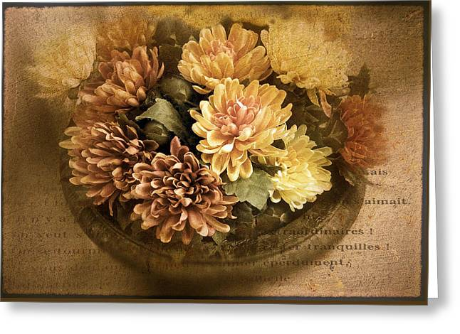 October Still Life Greeting Card by Jessica Jenney
