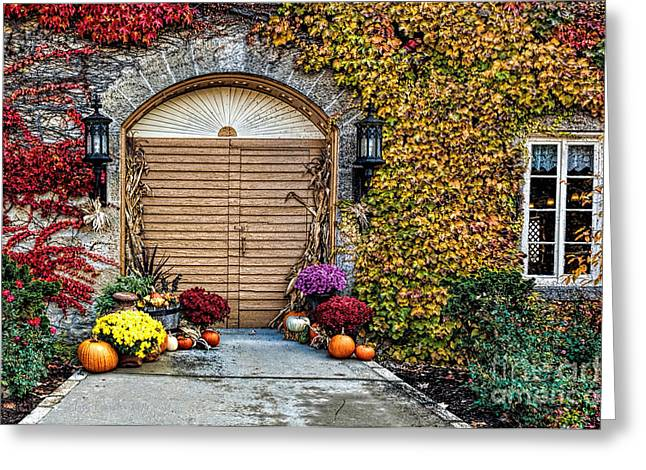 October Welcome Greeting Card