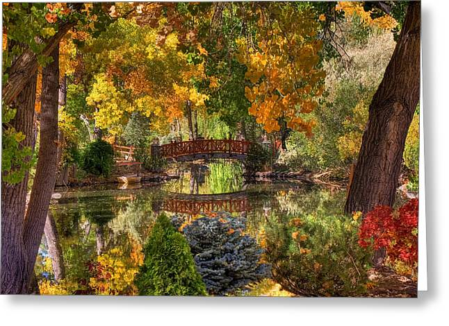 Ode To Autumn Greeting Card by Donna Kennedy