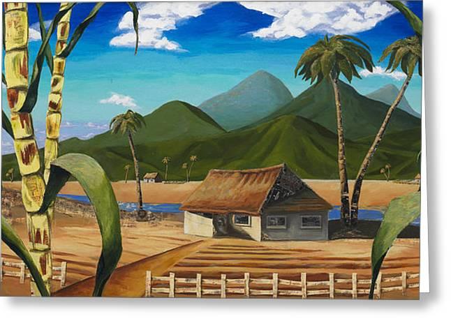 Ode To Plantation Rum Greeting Card by Travis Stewart
