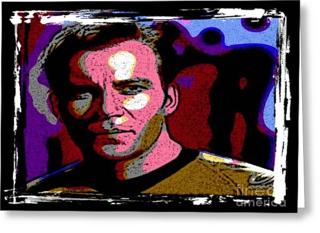 Ode To Star Trek Greeting Card