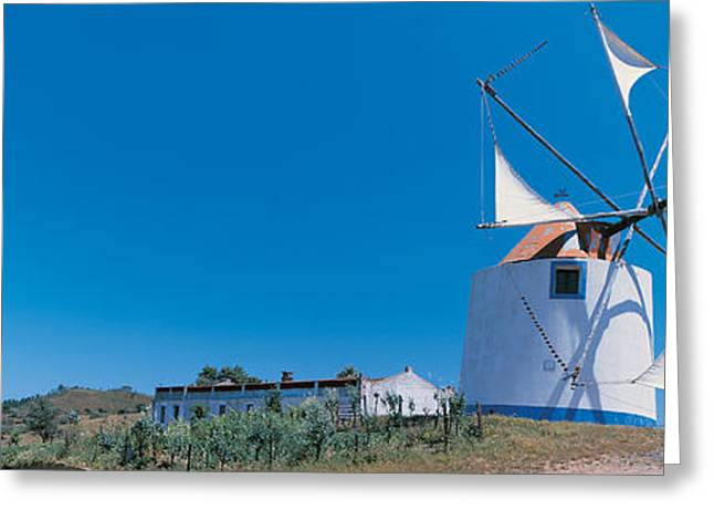 Odemira Algarve Portugal Greeting Card by Panoramic Images