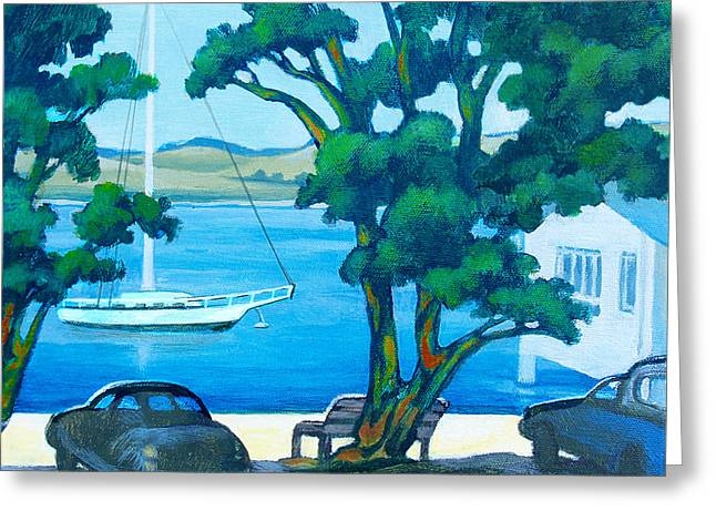 Of Boats And Summer Greeting Card