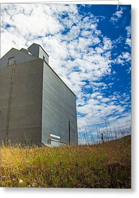 Of Clouds And Grain Greeting Card