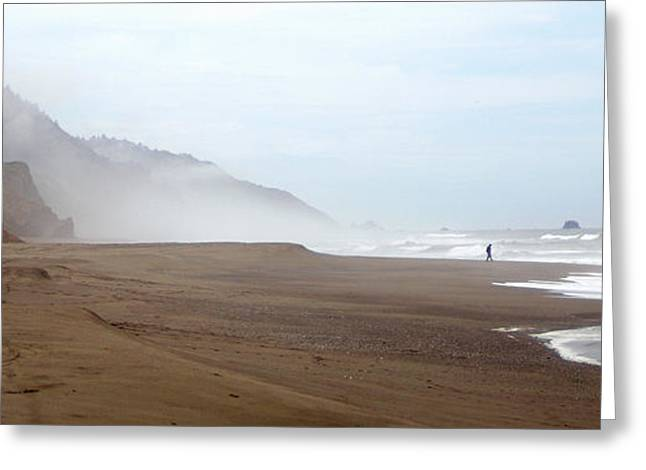 Of Solitude And Sand Greeting Card