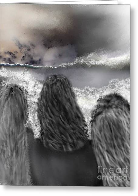 Of The Sea Greeting Card by Rc Rcd