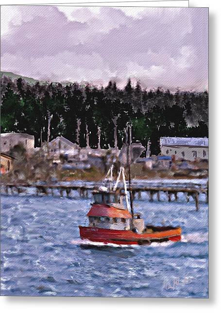 Off To Sea Greeting Card