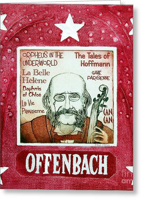 Offenbach Greeting Card by Paul Helm