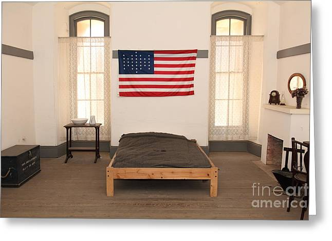Officers Quarters At San Francisco Fort Point 5d21533 Greeting Card by Wingsdomain Art and Photography