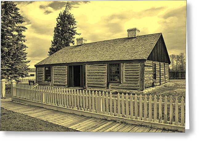 Officers Quarters Version 1 Greeting Card by Brenton Cooper