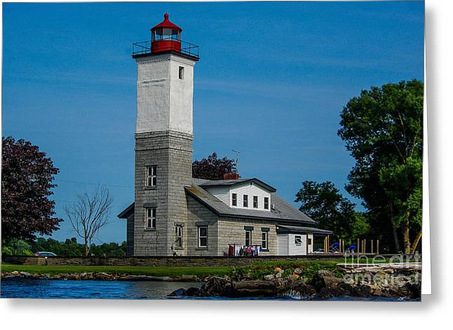 Ogdensburg Light House Greeting Card