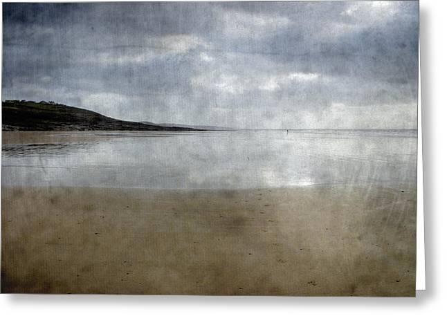 Ogmore Beach Greeting Card by Kevin Round