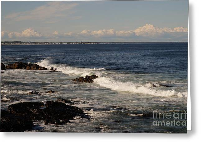 Ogunquit After The Storm Greeting Card by Zori Minkova