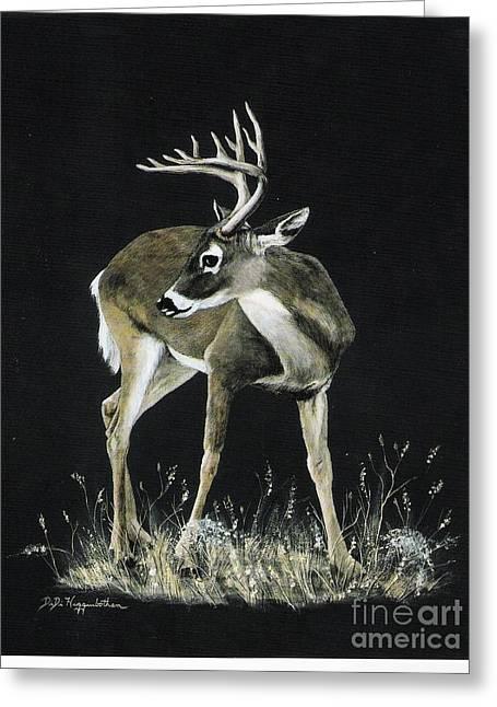 Oh Deer.....listen Greeting Card by DiDi Higginbotham