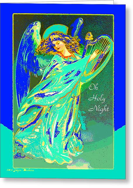 Oh Holy Night Greeting Card by Joyce Dickens