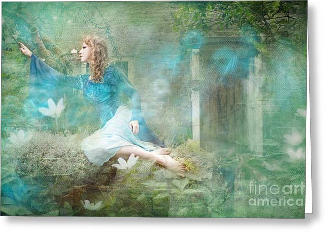 Oh Spring Oh Where Are You Greeting Card by Angel  Tarantella