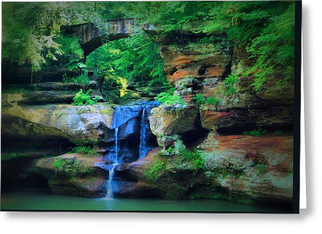 Ohio Beauty Greeting Card by Dan Sproul