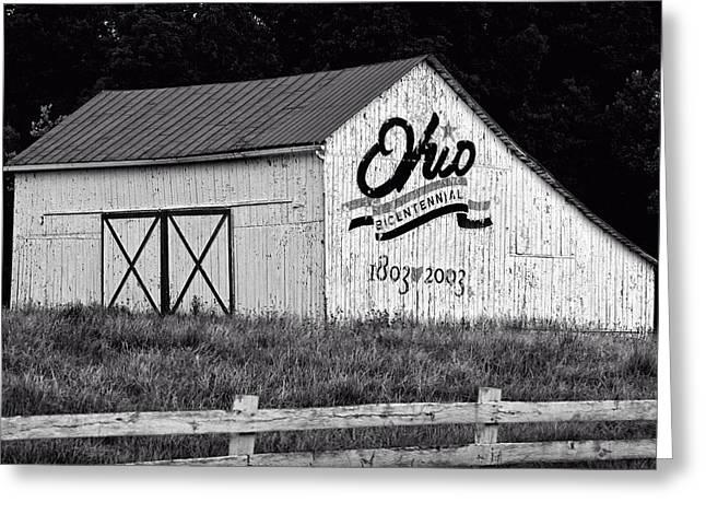 Ohio Bicentennial Barn Greeting Card