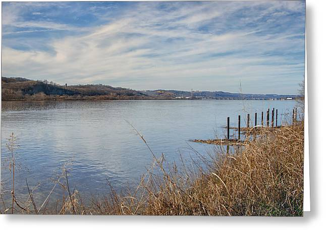 Ohio River Valley Greeting Card