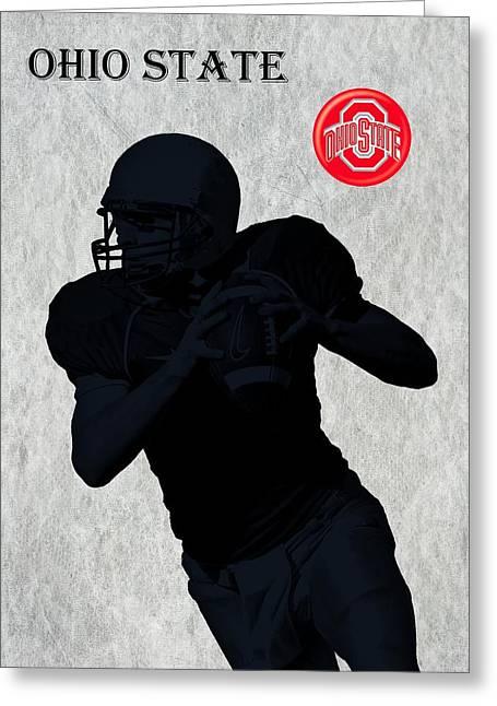 Ohio State Football Greeting Card