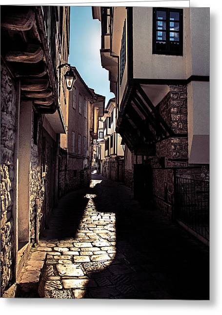 Ohrid Streets Greeting Card by Ivan Vukelic