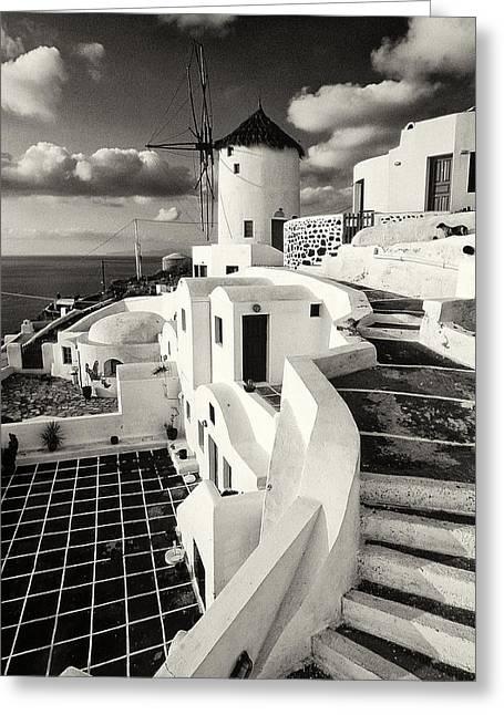 Oia - Santorini - Greece Greeting Card