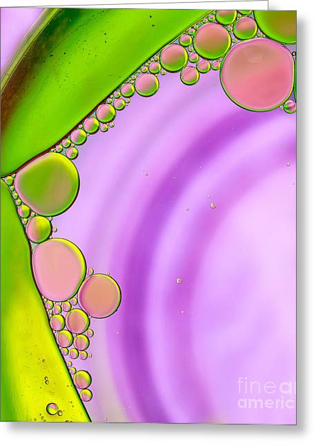 Oil 18 Greeting Card by Rebecca Cozart