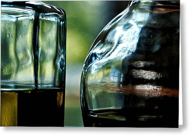 Oil And Vinegar 3 Greeting Card by Guillermo Hakim