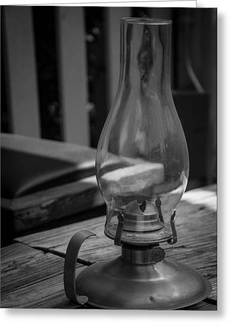 Oil Lamp Greeting Card