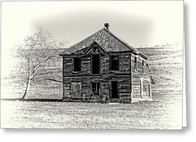Okanogan Homestead - Washington Greeting Card by Daniel Hagerman